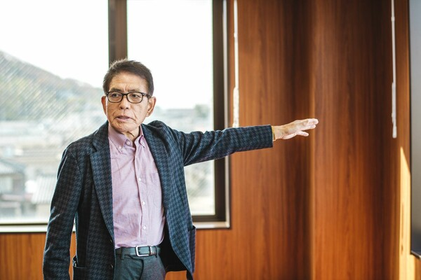 創業社長の柳下浩三さん